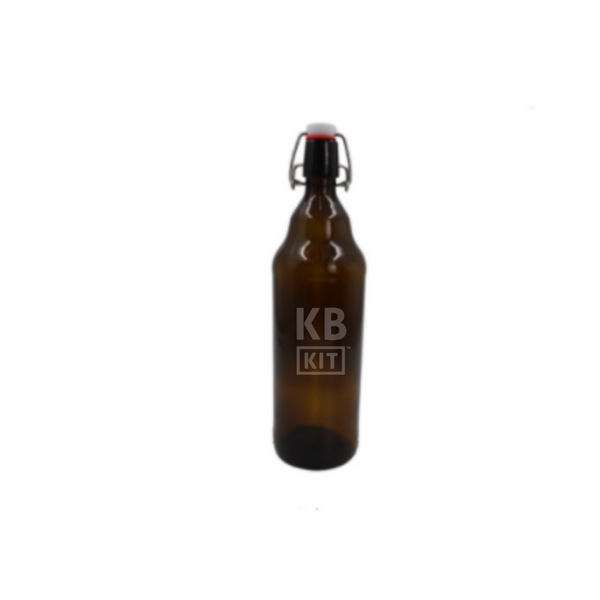 Botella Flip Top Ambar 1 Lt