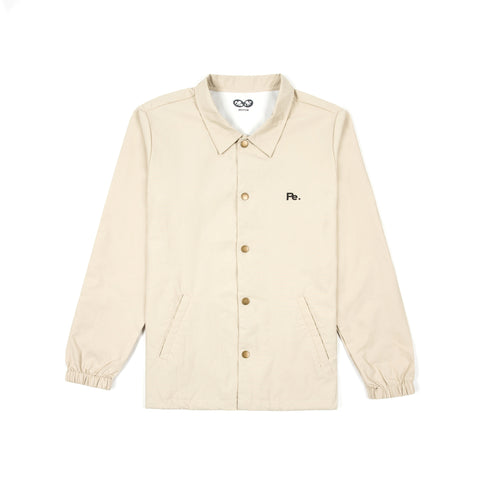 pe records coach jacket (beige)