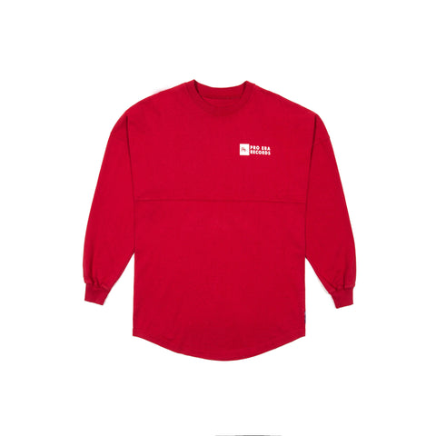 pe records spirit jersey (red)