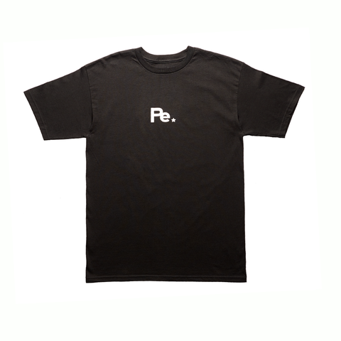 PE RECORDS Logo Tee (BLACK)
