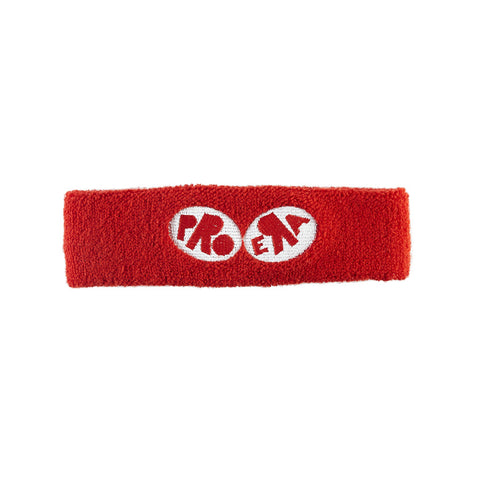 Pro Era Logo Headband (Red & White)