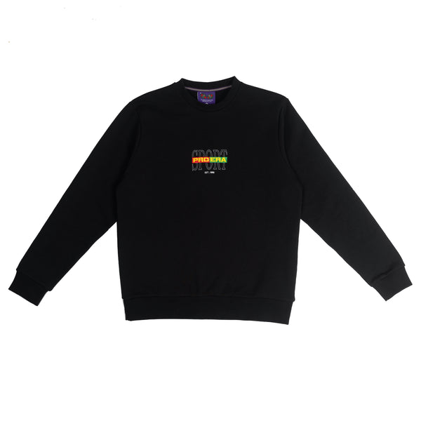 RUGBY SPORT SWEATER (BLACK)