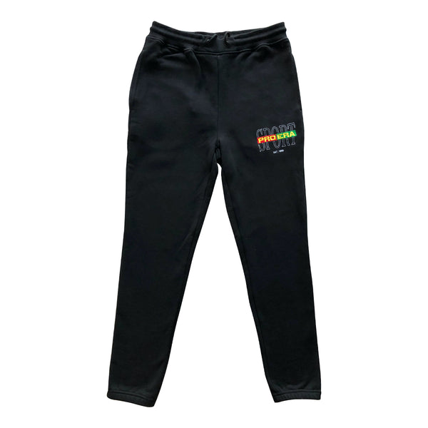 RUGBY SPORT SWEATPANTS (BLACK)