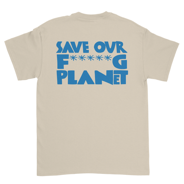 Save the Planet Tee (Natural)