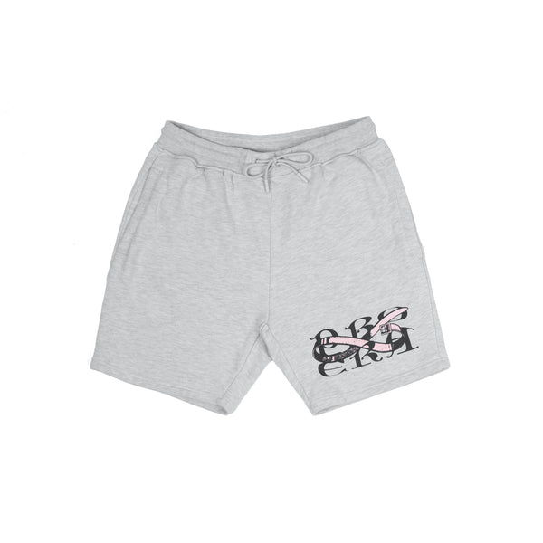TWISTED SHORTS (GREY)