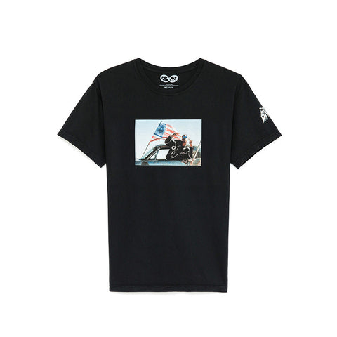 AABA Album Photo Tee (black)