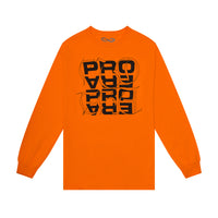 "Pro Era ""Calligraphy"" Tee (Orange)"