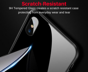 Yuno Tempered Glass iPhone Case