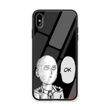 Load image into Gallery viewer, V2 Saitama OK Tempered Glass iPhone Case