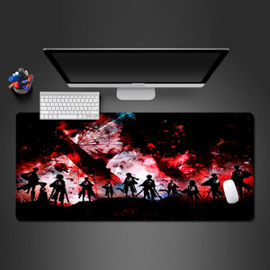 Attack On Titan Extended Mouse Pad