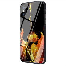 Load image into Gallery viewer, Agatsuma Zenitsu Tempered Glass iPhone Case