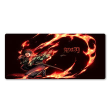 Load image into Gallery viewer, Tanjiro Kamado Extended Mouse Pad