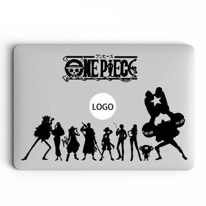 Straw Hat Crew Laptop Decal