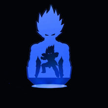 Load image into Gallery viewer, Vegeta Stance 3D LED Light