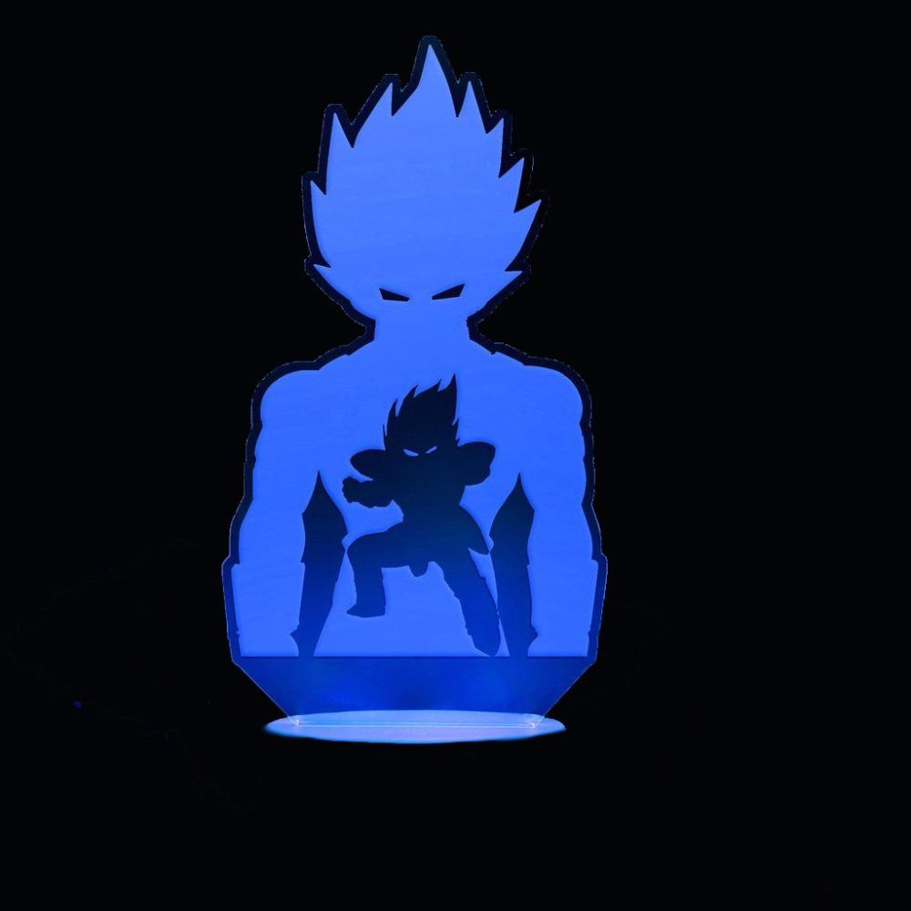 Vegeta Stance 3D LED Light