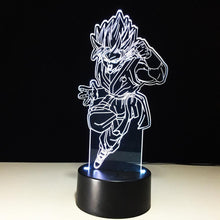 Load image into Gallery viewer, Goku 3D LED Light