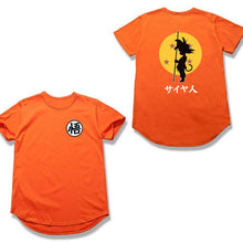 Load image into Gallery viewer, Kid Goku Scallop T-shirt