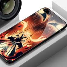 Load image into Gallery viewer, Bijuu Mode Naruto Tempered Glass iPhone Case