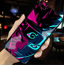 Load image into Gallery viewer, Sage Naruto Tempered Glass iPhone Case