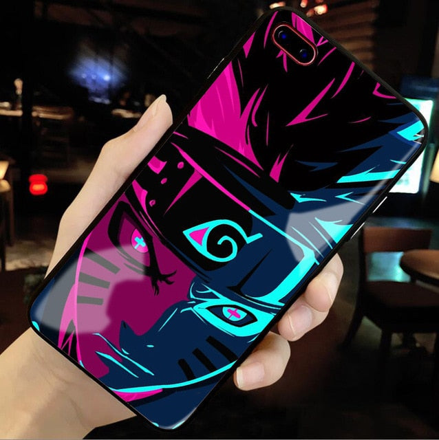 Sage Naruto Tempered Glass iPhone Case