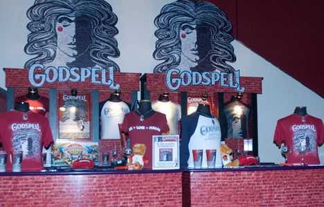 Godspell Broadway Stands eCommerce Design & Sales