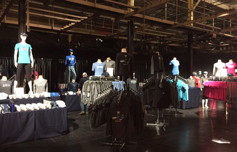 United NYC Half Marathon Expo Apparel Sales Online Fulfillment
