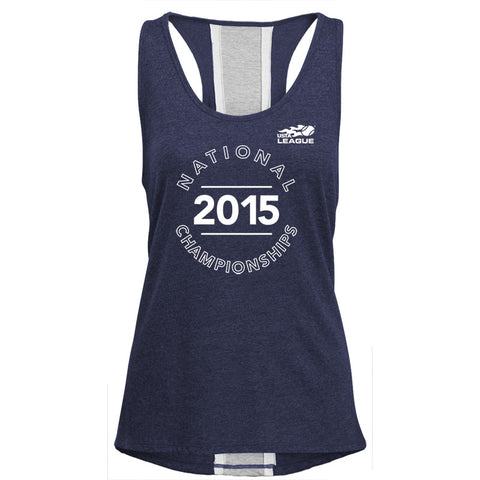USTA LEAGUES 2015 National Championships Women's Navy Rally Tank