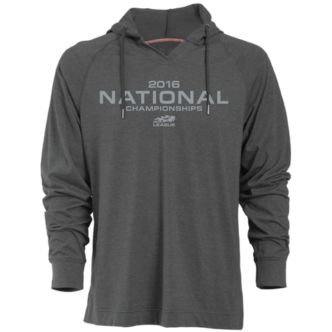 USTA LEAGUES 2016 National Championships Men's Charcaol Jersey Pullover Hoodie