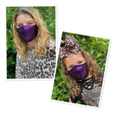 Mommy and me sequins face masks  FM-2022-8