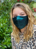 Mommy and me sequins face masks FM-2022-4