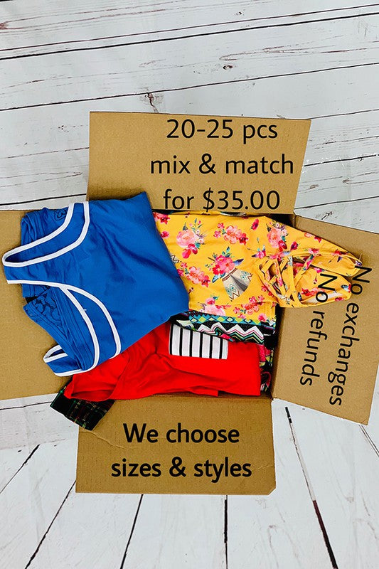 2020 Woman special box 20-25 pcs for $35,mix & match,we choose sizes & styles