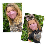 Mommy and me sequins face masks FM-2022-5