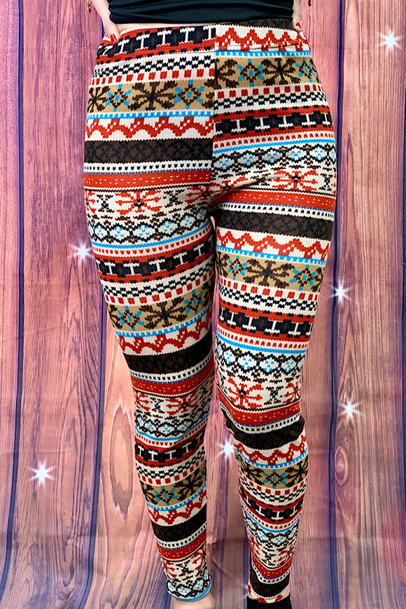 YMY4470	Printed fabric full length tight legging