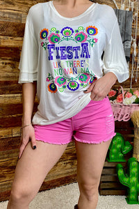 DLH5085 Fiesta like their is no manana graphic top