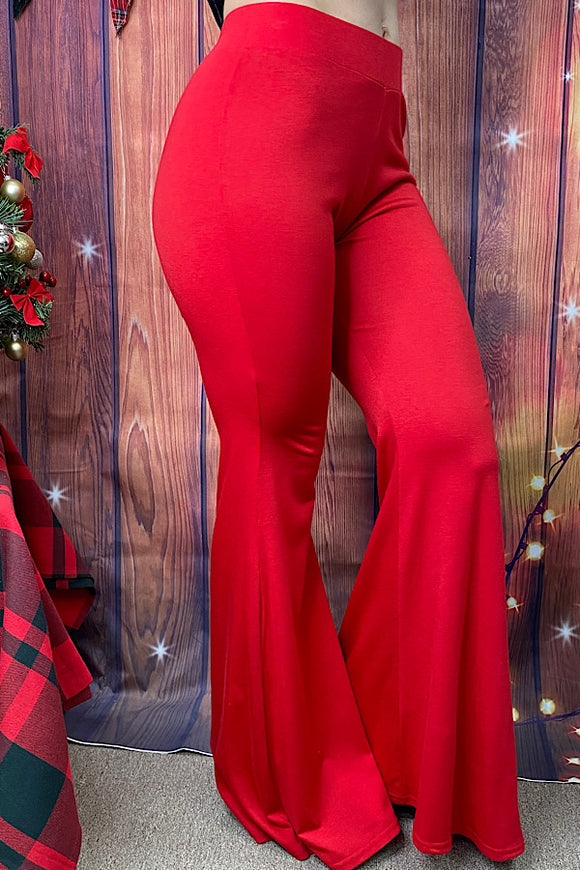YMY8588-1 Red bell bottoms