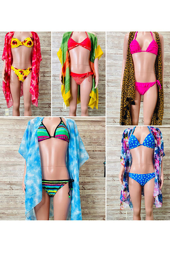 Bikini 5 sets for $29.99 mix styles  sizes