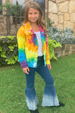 TIE DYE DENIM JACKET. CXS-950449