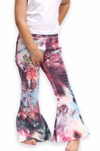 PURPLE / PINK TIE DYE BELL PANTS. KISSY-2020-21