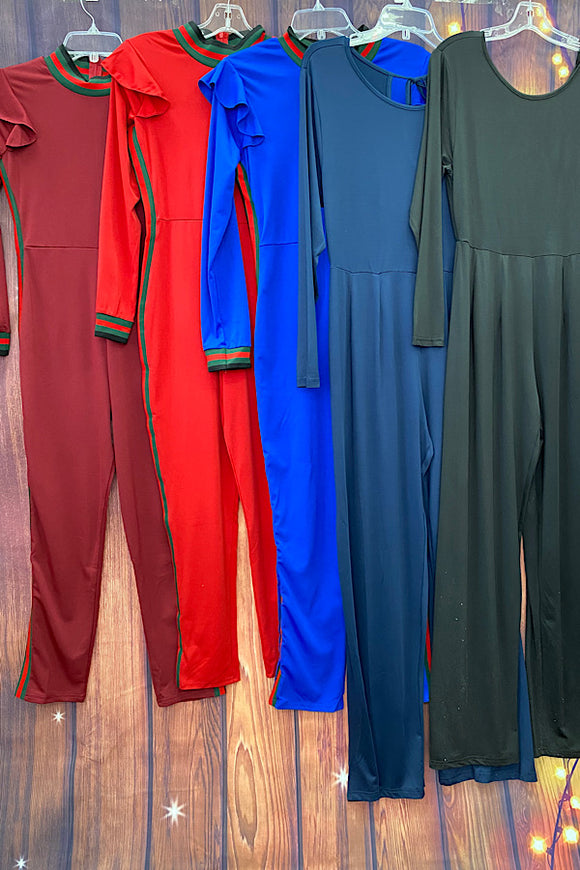 Jumpsuit set of 5 for $29.99 Mix colors & sizes
