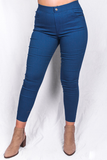 YMY5512S-4 blue color women jegging