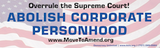 Stickers - Abolish Corporate Personhood