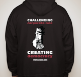 Pullover Democracy Unlimited Hooded Sweatshirt