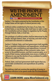 Postcards - We the People Amendment