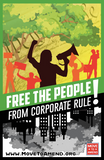 Stickers - Free the People From Corporate Rule