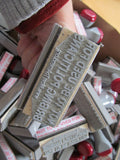 Rubber Stamp - Not to Be Used for Bribing Politicians