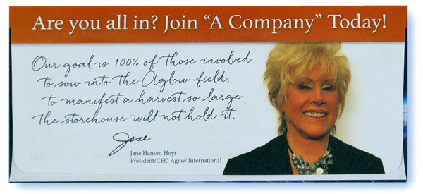 "NEW! ""A Company"" Response Envelope (pack of 10)"