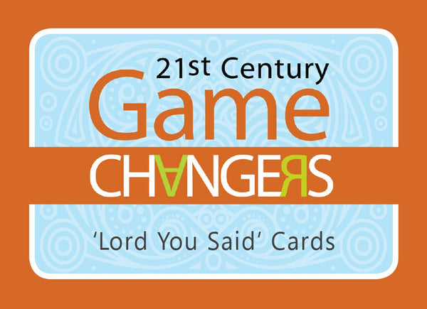'Lord You Said' Cards