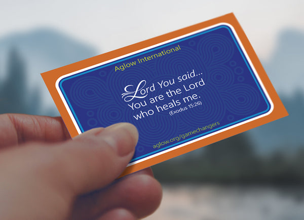 New! 'Lord You Said' Healing Cards