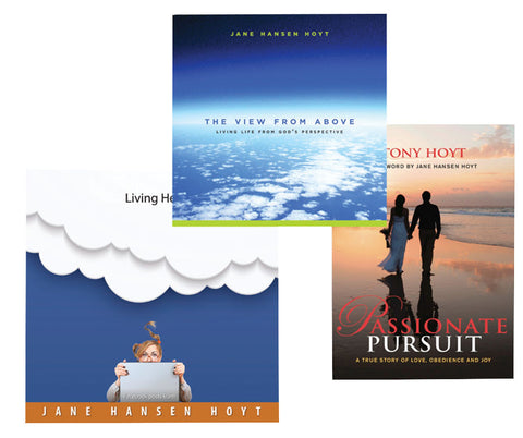 'The View from Above,' 'Passionate Pursuit' & 'Living Heaven to Earth' Bundle