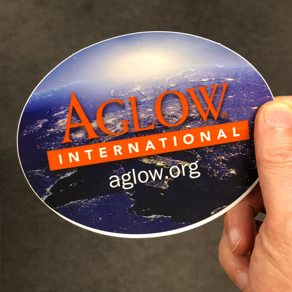 Aglow Logo Decal